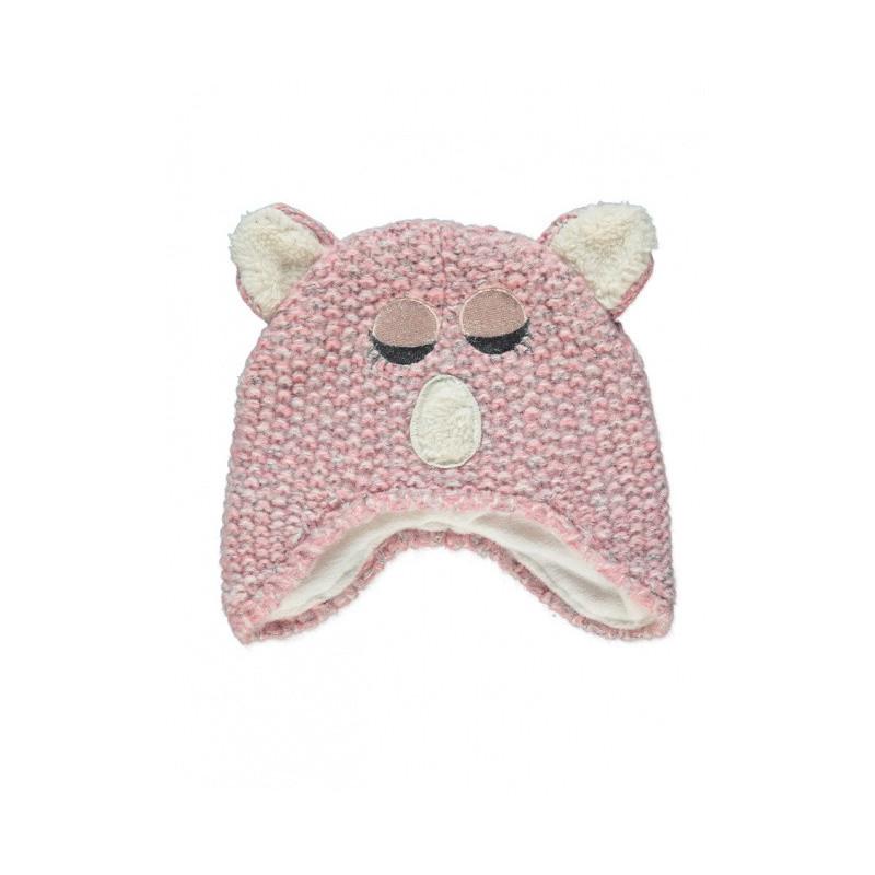 Pletená čepice Pinky