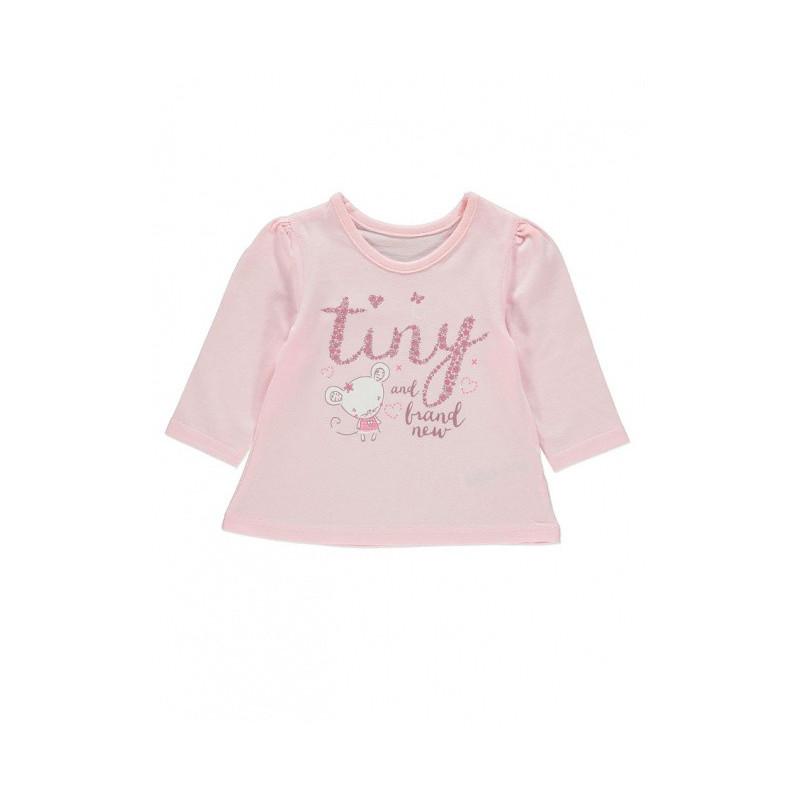 Růžové Triko Tiny