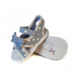 Letní sandálky puntík