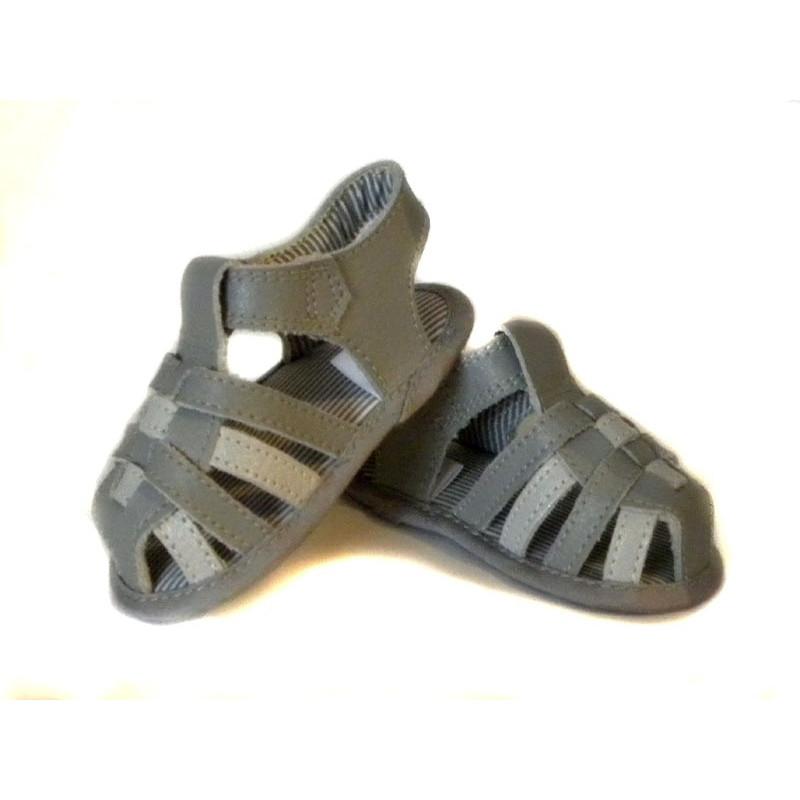 Kožené sandálky Summer