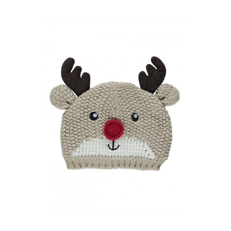 Pletená čepice Reindeer