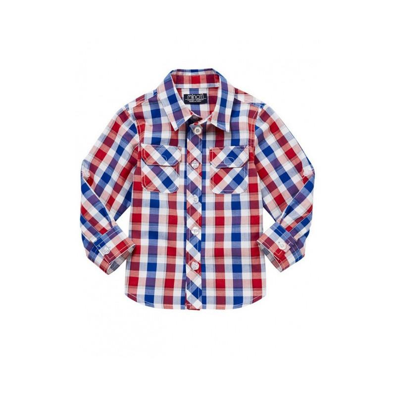 Károvaná chlapecká košile