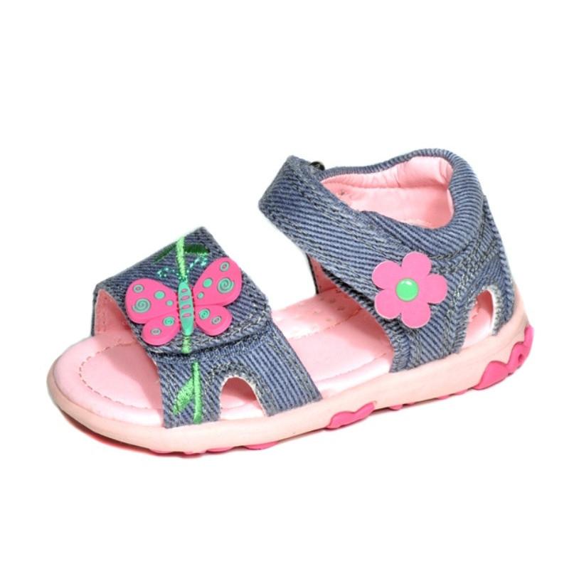 Sandály motýlek MC