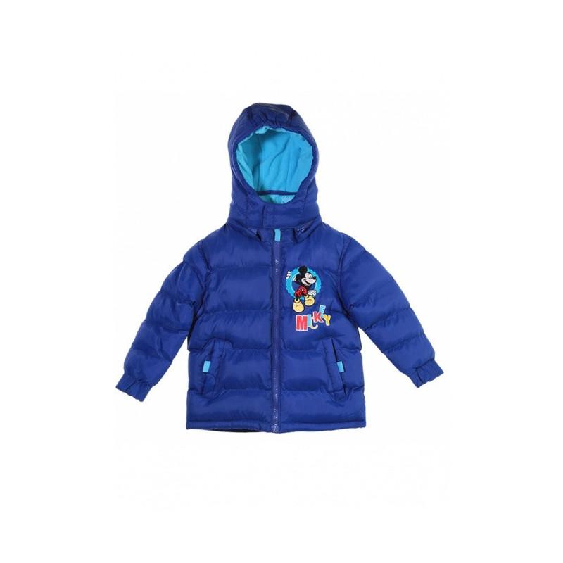 Zimní bunda Mickey modrá