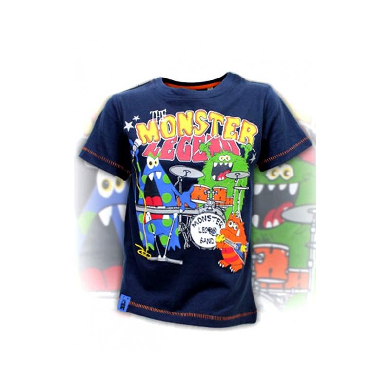 Tričko Monster modré