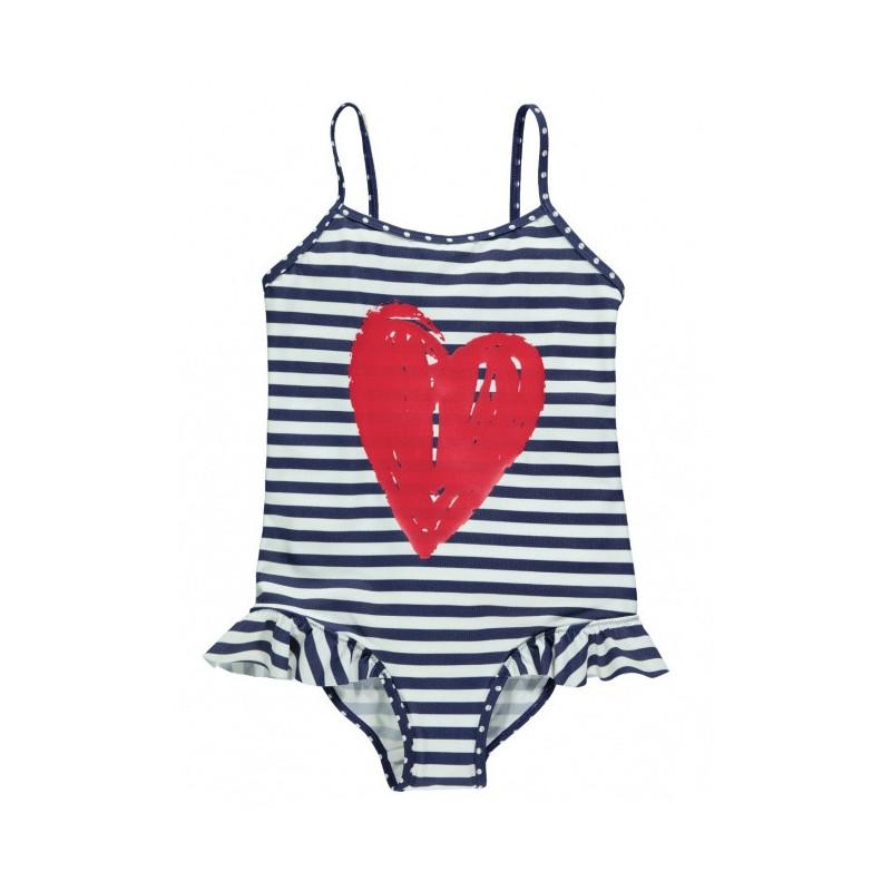 Dívčí plavky Heart