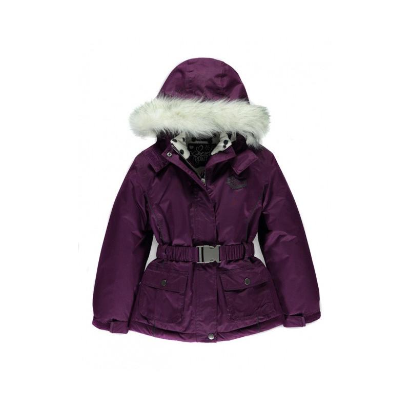 Zimní bunda s kapucí